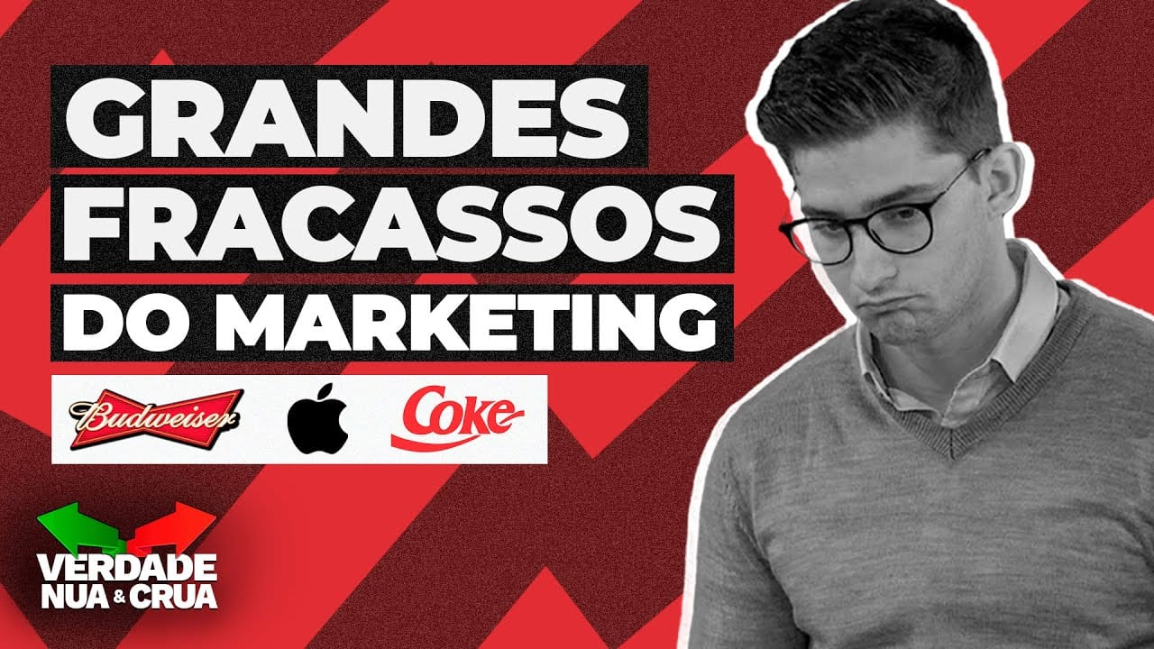 fracassos marketing